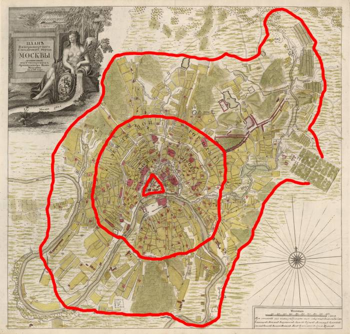 Москва 1739 кольца